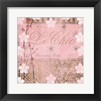 Framed Haute in Pink I