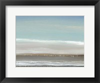 Distant Coast I Framed Print