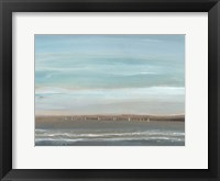 Distant Coast II Framed Print