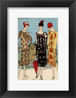 Framed Vintage Couture I