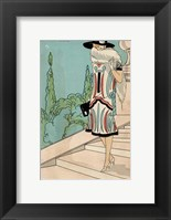 Framed Vintage Couture V