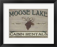 Framed Lodge Sign IV