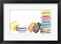 Framed 8 Macarons