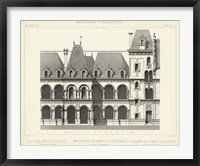 French Facade I Framed Print