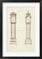 Framed Chippendale Clock Cases II