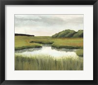 Marsh Landscapes II Framed Print