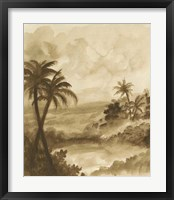 British Tropics I Framed Print