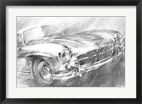 Sports Car Study I Framed Print