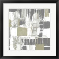 Neutral Quadrants I Framed Print