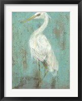 Seaspray Heron II Framed Print
