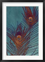 Luxe Plumes II Framed Print
