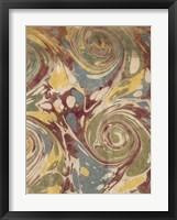 Marbleized II Framed Print
