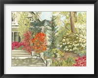 Framed Plein Air Garden I