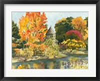 Framed Plein Air Garden II