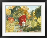 Framed Plein Air Garden III