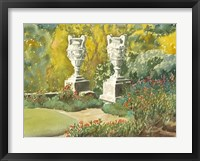 Framed Plein Air Garden V