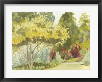 Framed Plein Air Garden VI