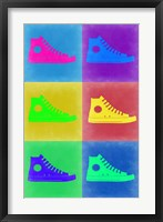 Framed Shoe Pop Art 2