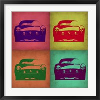 Framed Ferrari Pop Art 1