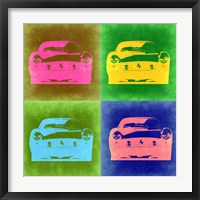 Framed Ferrari Pop Art 3