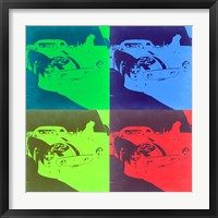 Framed Racing Ferrari Pop Art 2