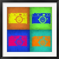 Framed Camera Pop Art 1