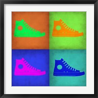 Framed Shoe Pop Art 1