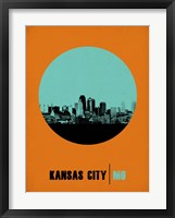 Framed Kansas City Circle 1