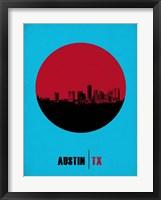 Framed Austin Circle 1