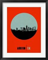 Framed Austin Circle 2