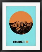 Framed Cincinnati Circle 1
