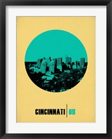 Framed Cincinnati Circle 2