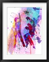 Framed Pulp Watercolor