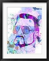 Framed Sobchak Watercolor