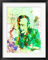 Framed Saul Watercolor
