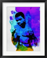 Framed Ali Watercolor