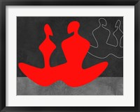 Red Couple 1 Framed Print