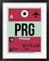 Framed PRG Prague Luggage Tag 2