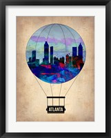Framed Atlanta Air Balloon
