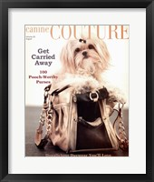 Framed Canine Couture-Carrie Away