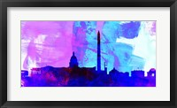 Framed Washington DC City Skyline