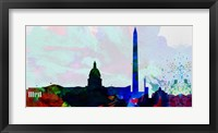 Framed Washington DC City Skyline 2
