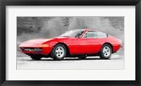 Framed 1968 Ferrari 365 GTB4 Daytona