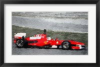 Framed Ferrari F1 Racing