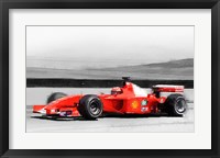 Framed Ferrari F1 Laguna Seca