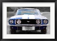 Framed 1968 Ford mustang Front End