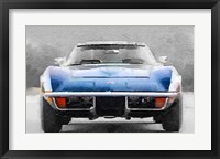 Framed 1972 Corvette Front End