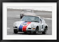 Framed Porsche 911 Race in Monterey