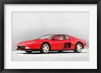 Framed 1983 Ferrari 512 Testarossa