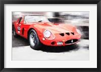 Framed 1962 Ferrari 250 GTO